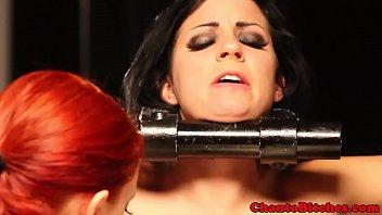 Lezdom treatment with kinky lesbian   bondage   lezdom   prodomme