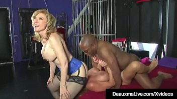 Horny Cougars Deauxma &amp_ Nina Hartley Fuck &amp_ Suck Black Cock!