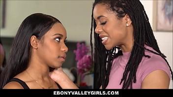 Two Black Teen Lesbians Orgasm
