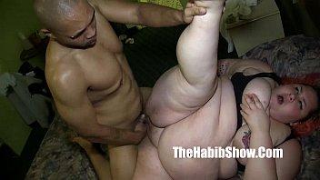 she cant handle redzilla 12 inch BBC sbbw lover takes it all p2
