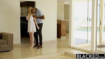 BLACKED  Blonde Babysitter Trillium Fucks her B... | Video Make Love