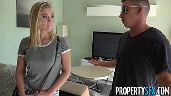 PropertySex - Horny blonde cheats on her boyfri... | Video Make Love