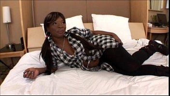 Black Amateur Teen in Black Hardcore Sex Video