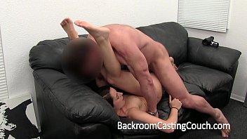 Girl Next Door Gets Ambush Creampie on Casting Couch  #1142783