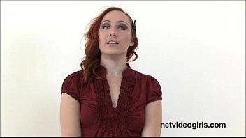 Amateur redhead has stunning BJ eyes