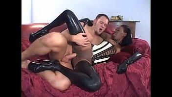 Bbw corset interracial