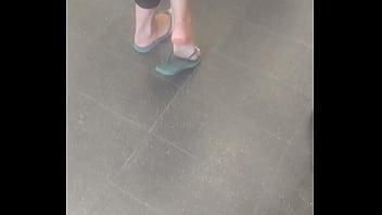 Perfect israeli soles in public