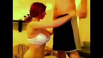 RedHead MILF and Her Hubby Getting Freaky -- www.BuztaNut.com --