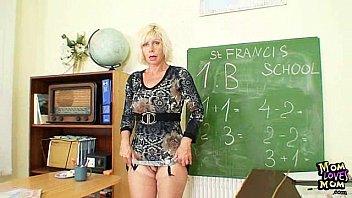 Порно мастурбация учителя