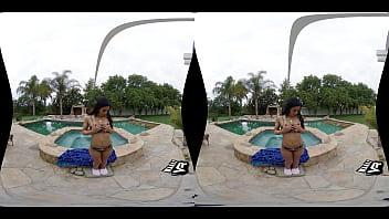 WankzVR - Hot Tub Fuck Machine ft. Demi Rouge