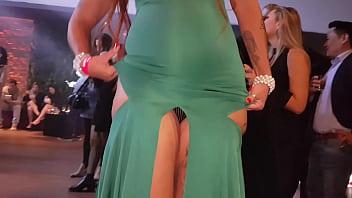 Melissa Devassa tira calcinha em festa do pornô brasileiro, direção Stanlay Miranda gravado por El Toro de Oro