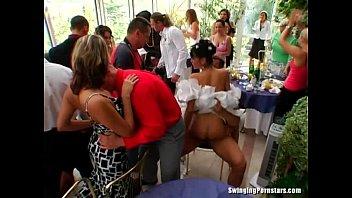 Drunk wedding slut