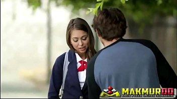 Schoolgirls' Pranks Sweet cutie Riley Reid and her new boyfriend