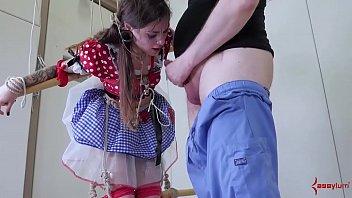 Anal playtime for hot little puppet girl (Luna Lovely)
