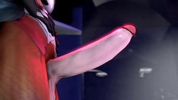 Futanari - Mercy &amp_ D.va Part 1