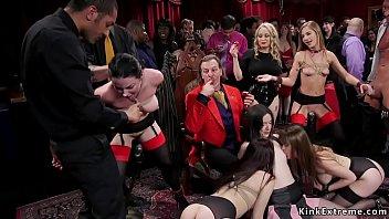 At swingers party hot sluts orgy banging