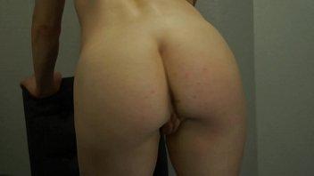 Busty Redhead Slut Cums With Glass G-Spot Toy