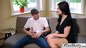 Sex Scene In Office With Slut Hot Busty Girl (aletta ocean) video-07