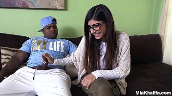 Naughty Mia Khalifa is in search of a big black cock