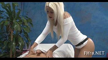 Порно с массажистами