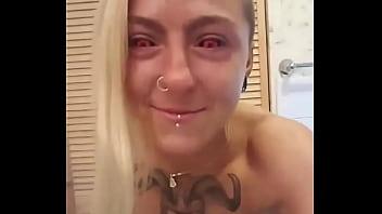 Povbitch Dirty Tattoo Pierced Girl Fully Enjoy Great