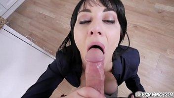 Milf Alessandra Snow hot deep throat