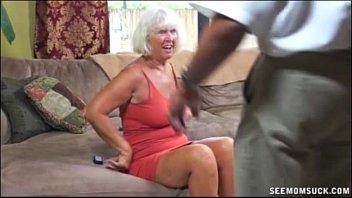Nice granny blowjob