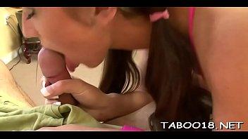 Luscious legal age teenagers enjoy oral stimulation stimulation
