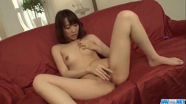 Hitomi Oki applies pleasure on two big cocks  - More at javhd.net