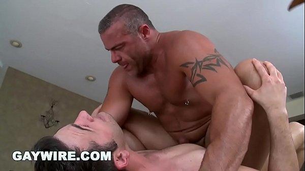 Muscular Hunk Gets Sexy Rub Down
