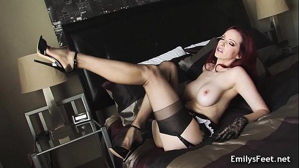 Госпожа секс чулки шпильки видео