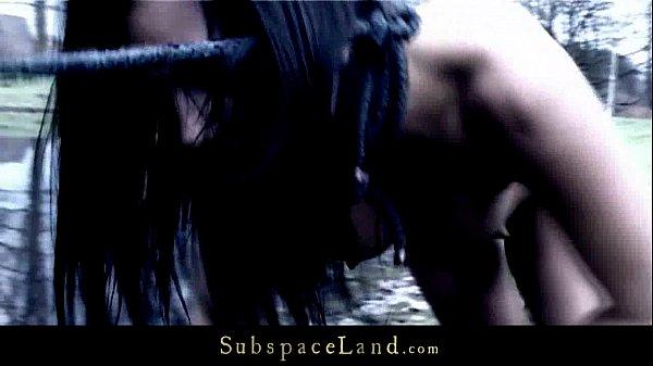 Hardcore Slave Leashed Like A Pet And Hard Spanked