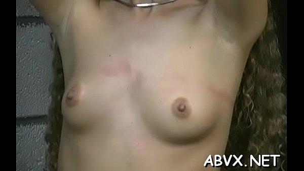 Top notch amateur slavery scenes with juvenile girl