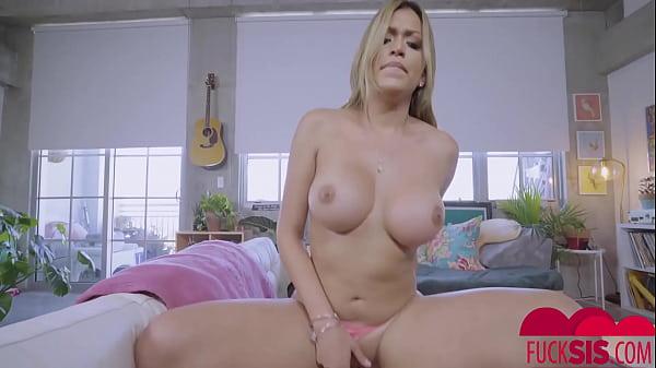 Nicole Rey Fucked Her STEPBRO
