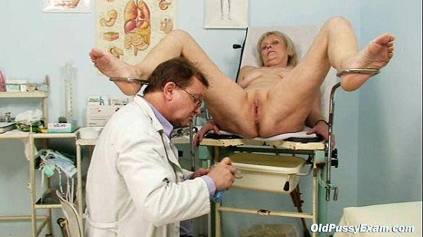 Порно фото старых женщин у гинеколога