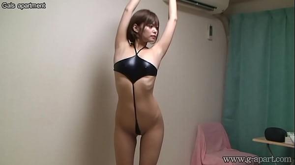in Japanese slingshot bikini chicks