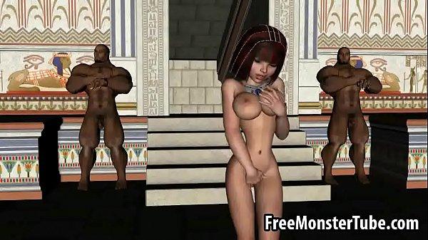Cartoon egyptian porn