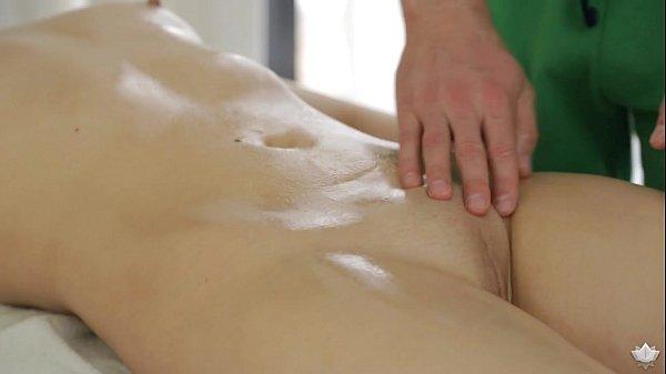 Milana Fox has sex on massage table - FantasyMassage