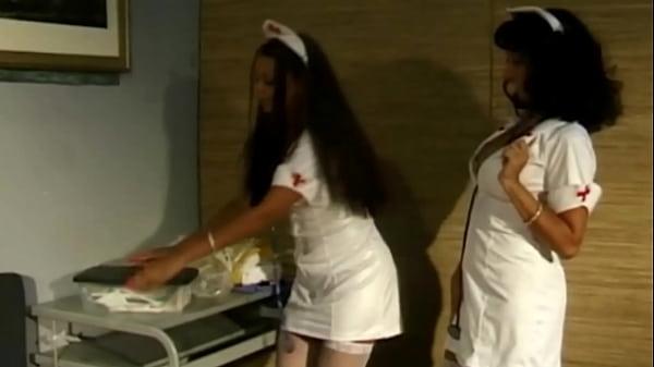 Lesbian Nurses Lick Pussies