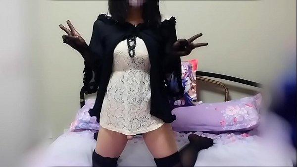 crossdresser corset masturbation