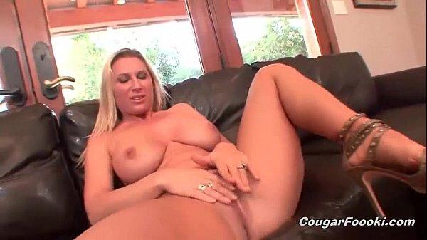 Big Boobed Blonde Gets Fucked Hard
