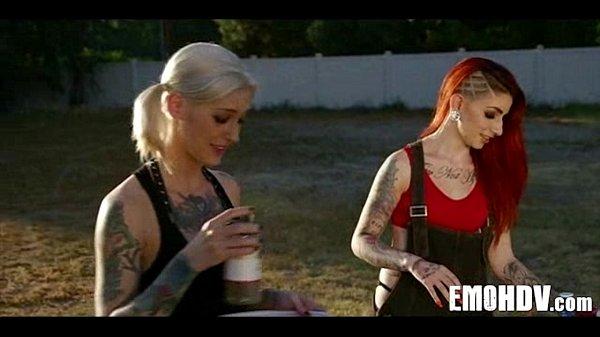 Emo slut with tattoos 0339