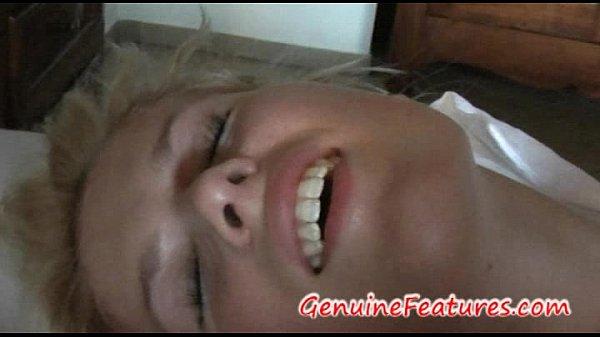 Gorgeous Blonde Sandra Has Real Orgasm