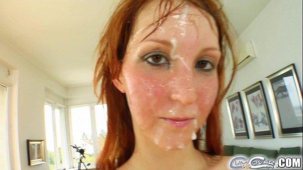 Redhead silver pornstar cumforcover