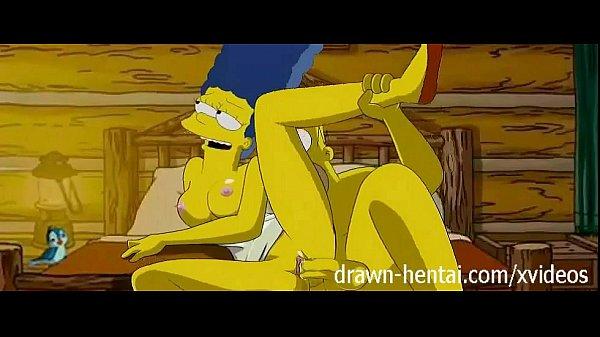Порно мультик симпсоны фото