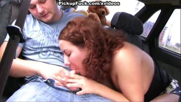 Пикап порно в машине