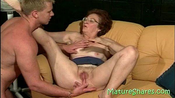 Licking A 70plus Vagina