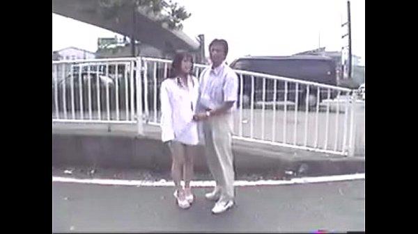 Japanese Naked Girl Walking in Public