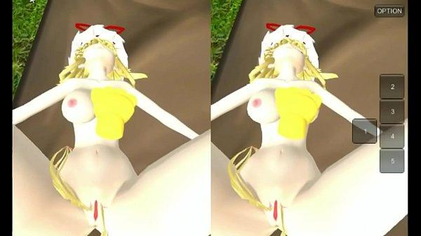 MMD VR GAME Yukari Fantasy patreon.com/dragon972