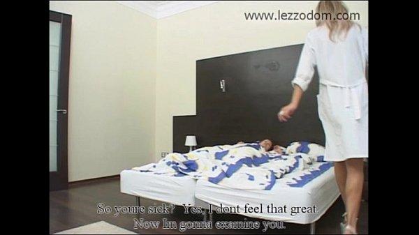 Девушка на медосмотре у медсестры лисбиянки русское